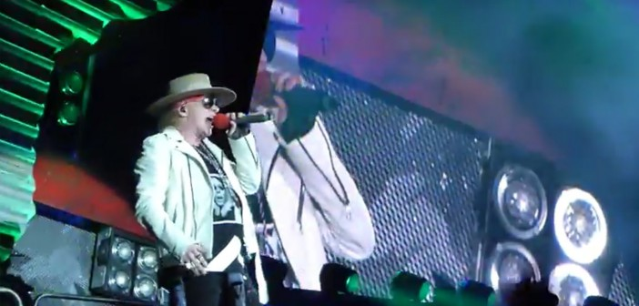 Axl Rose - Touch To Much - Prag