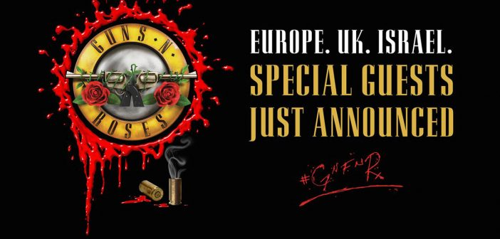 Guns N' Roses Support