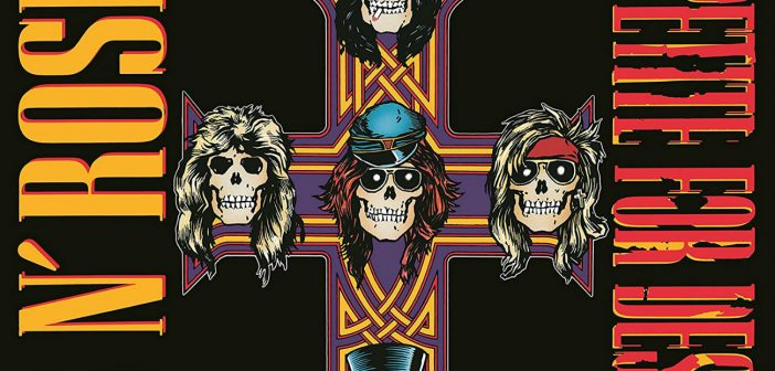 Guns N' Roses: Appetite for Destruction erklimmt Platz 2 der Album-Charts in Deutschland