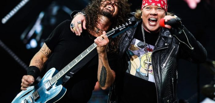 Dave Grohl & Axl Rose