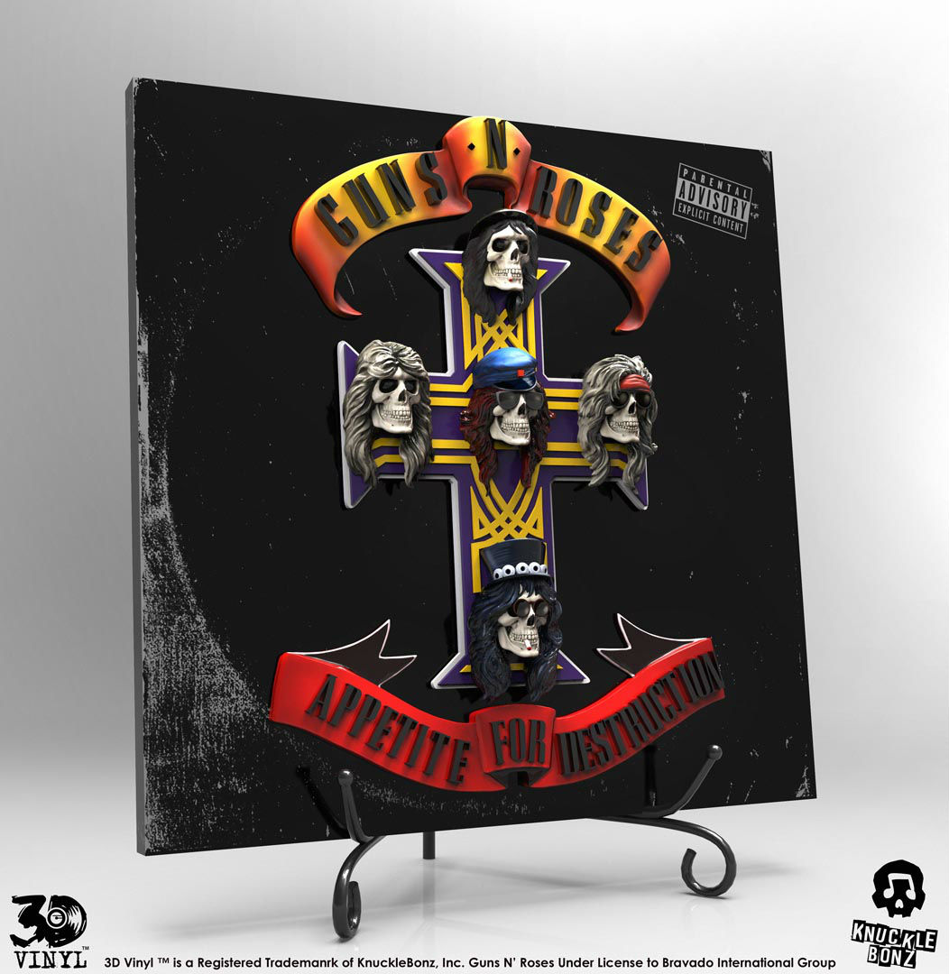Appetite For Destruction 3D Vinyl