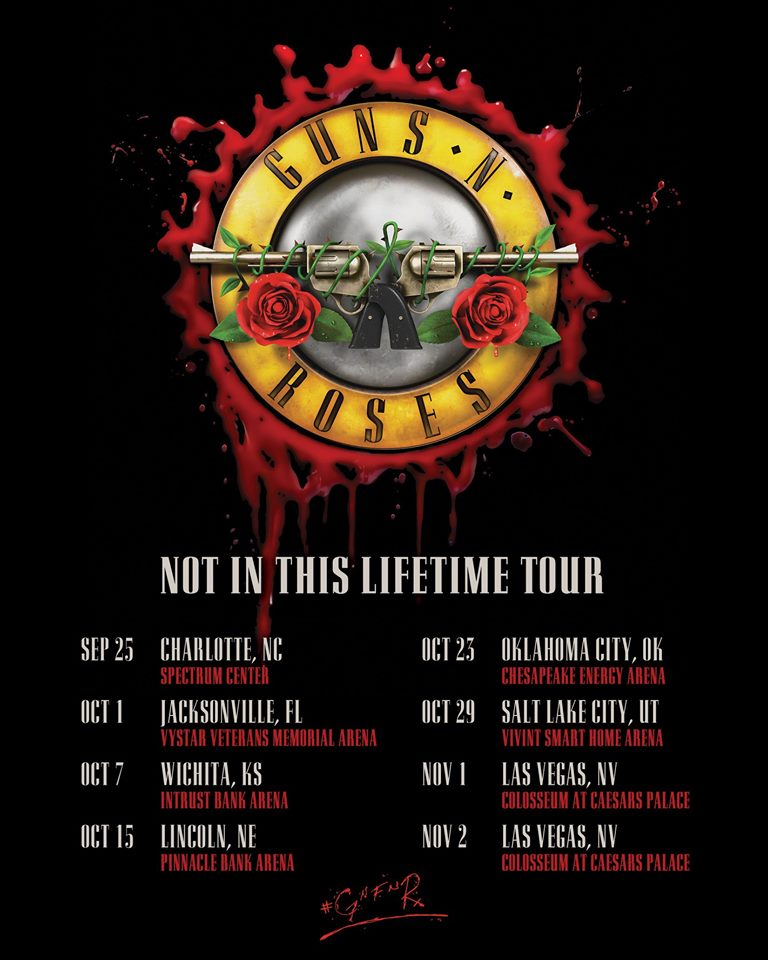 Guns N' Roses Tour 2019 - USA
